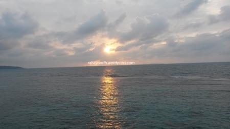 Sun Rise at Nirwana Resort