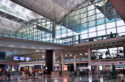 Airport Hongkong