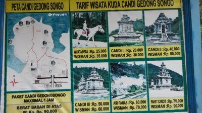Tarif Wisata Kuda Candi Gedong Songo
