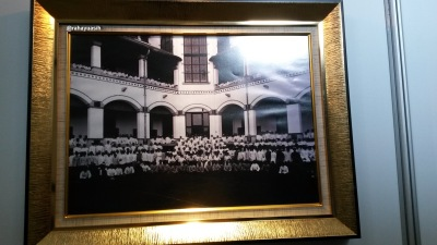 Pekerja di Lawang Sewu (Pemimpin dan Staff Belanda serta Pekerja Pribumi)