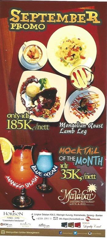 Promo Malabar Restaurant
